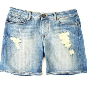Fatface United Kingdom Distressed Jean Shorts Sz.8